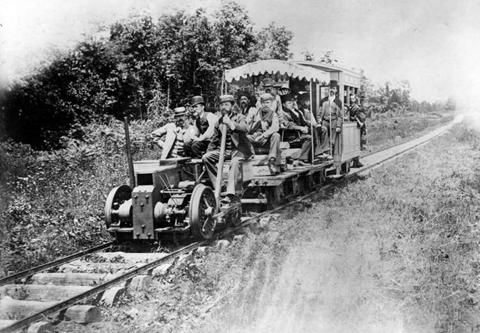 Chuyến thử nghiệm xe điện lần đầu tiên của Edison