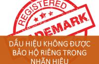 Dau Hieu Khong Duoc Bao Ho Rieng